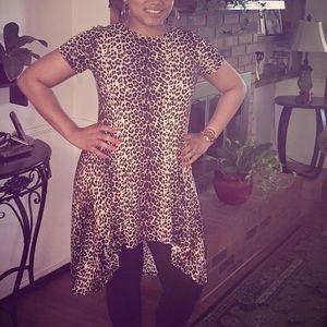 Leopard shirt or dress
